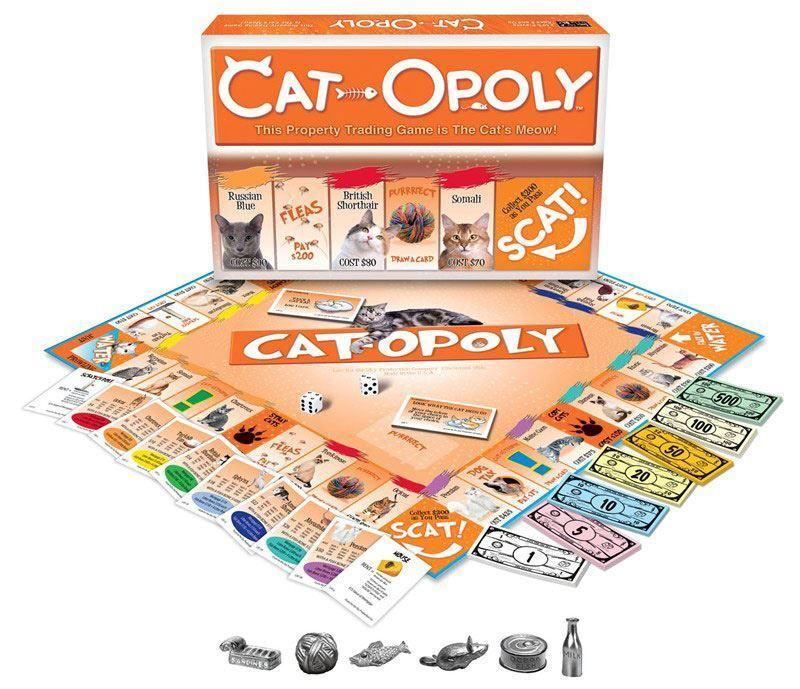 Cat-Opoly  Gioco da Tavolo Famiglia - Gioco per Gatto Auomoti  Offriamo vari marchi famosi
