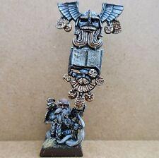 2000 Dwarf Limited Edition Army Standard Bearer Citadel Pro Painted Warhammer GW
