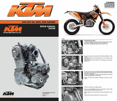 2002 ktm 400 520 sx mxc exc racing motorcycle owners.