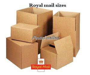 single wall postal mailing cardboard boxes royal mail. Black Bedroom Furniture Sets. Home Design Ideas