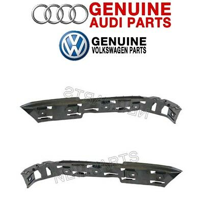 For VW Volkswagen Beetle 12-16 Pair Set Of 2 Front Bumper Cover Guide Genuine