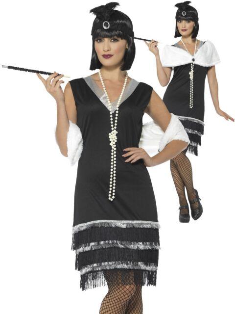 Donna 1920s Coco Grande Gatsby Charleston Flapper Costume