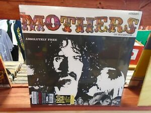 Frank Zappa Absolutely Free 2x Lp New 180g Vinyl Gatefold