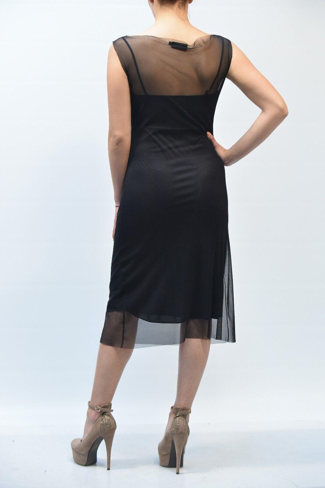 a52f4c8a88a ABITO - 50% S.A.M.H. women DRESS ПЛАТЬЕ ROBE 052 black MIS. AA M ...