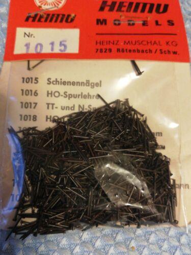 Z Schienennägel  0,6 x 8 mm ca.1000 Stück  Spur N HEIMU 1015  Gleisnägel