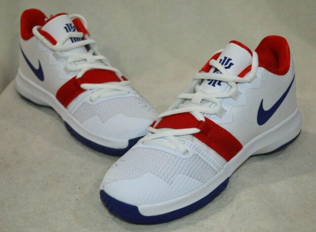 18d25ccccb4d9 Nike Kyrie Flytrap (PS) White/Royal Blue Boy's Sneakers-Asst Size NWB  AH3497-146