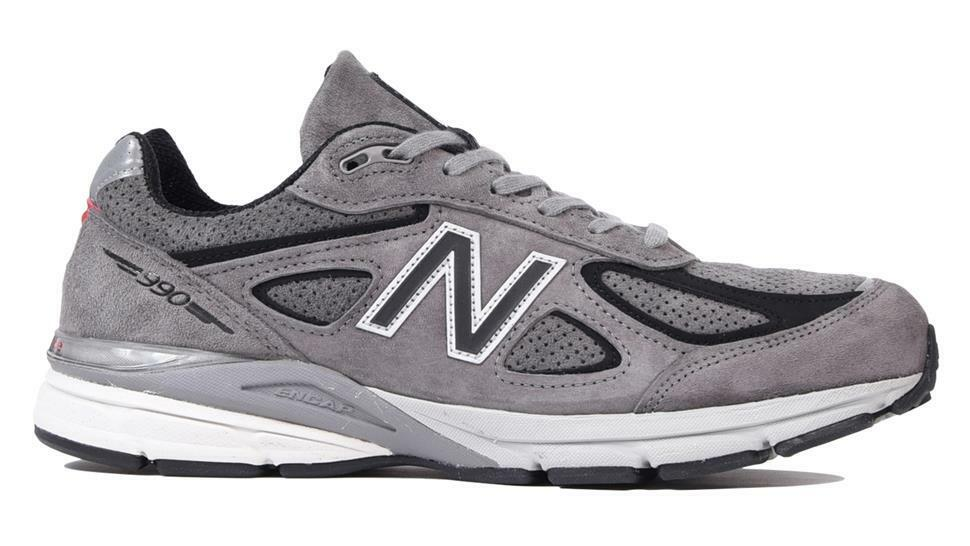 NEW BALANCE 990 M990SG4 MARBLEHEAD STEEL GREY RED WHITE GREY - MADE IN USA
