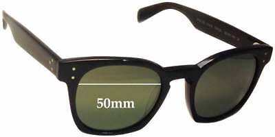 Fuse Lenses Polarized Replacement Lenses for Oliver Peoples OV 5310 50mm