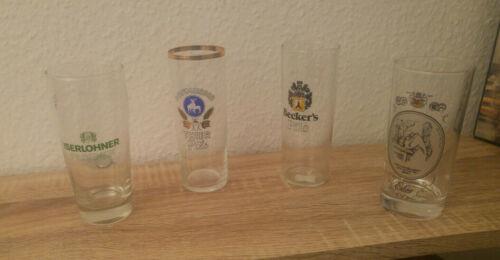 Schöne 0,2L Biergläser zum Sammeln aus Nachlass