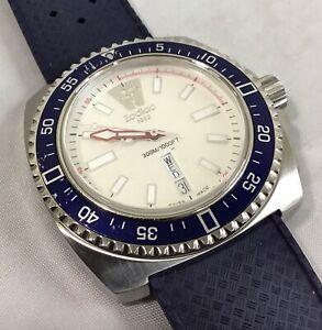 Men's ZODIAC V-WOLF Swiss Made Wristwatch ZO2304 w/ Day & Date 44mm MSRP $525.00
