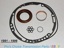1991 to 1996 GM 4L80E Transmission Front Pump Complete Reseal Kit with Bushing