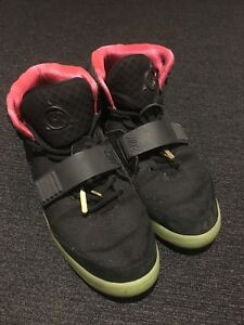 182b0237a75 Image is loading Nike-Air-Yeezy-2-NRG-Black-Solar-Limited-