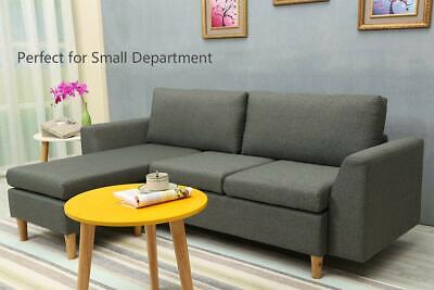 Superb Small Sectional Sofa L Shaped Couch With Reversible Chaise Sofa With Ottoman Ocoug Best Dining Table And Chair Ideas Images Ocougorg