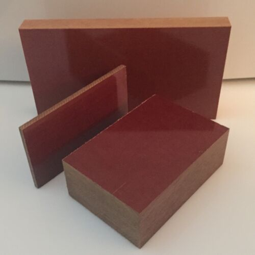 """Cut to Size! 1.25/"""" Canvas Phenolic CE Priced Per Square Foot Plastic Sheet"""