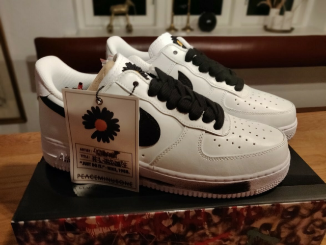 Sneakers, Nike, str. 44,5,  Ubrugt, Nike Air Force 1…