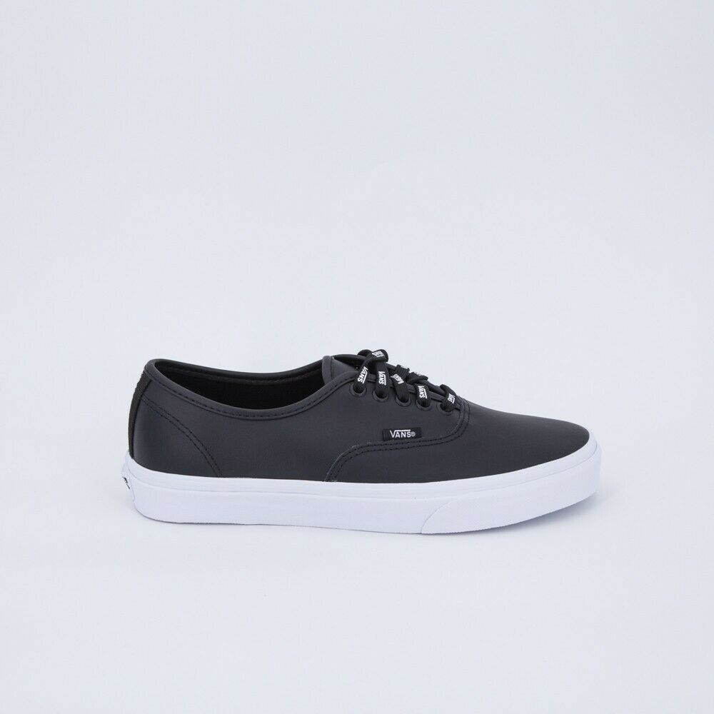VANS AUTHENTIC PELLE NERA LIMITED EDITION n.42 100% ORIGINALI NUOVE
