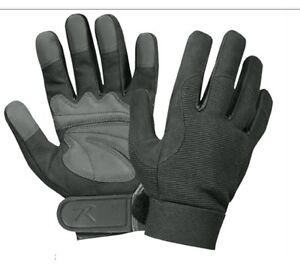 Military-MECHANICS-GLOVES-Moisture-Wicking-Polyester-Spandex-Black-Shooting-Glov