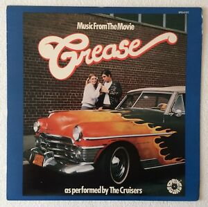 BEE-GEES-COVER-CRUISERS-MUSIC-FROM-THE-MOVIE-034-GREASE-034-1978-US-9-TRACK-VINYL-LP