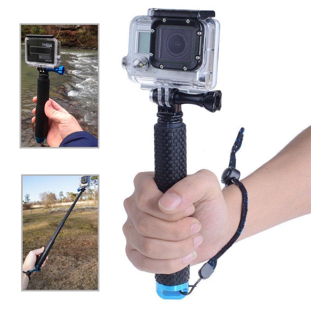 """37""""Waterproof Extension Pole Selfie Stick for Gopro hero HD 5 4 3+ 3 SJCAM EKEN 8"""