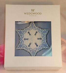 New-Wedgwood-White-and-Blue-Jasperware-Pierced-Snowflake-Ornament