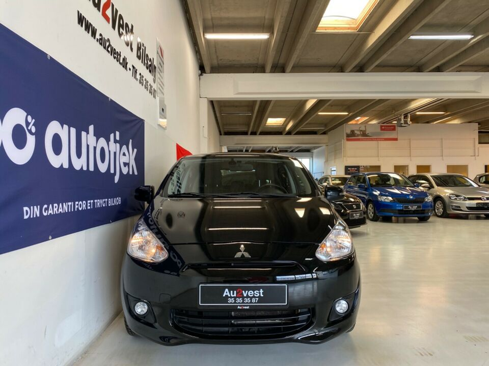 Mitsubishi Space Star 1,2 Invite Benzin modelår 2015 km