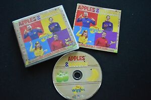 THE-WIGGLES-APPLES-amp-BANANAS-RARE-AUSTRALIAN-CD-ABC-TV