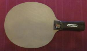 Belle Hanno - Bernt Jansen - Blade - Holz - Tischtennis - Table Tennis - Raritat Avec Les éQuipements Et Les Techniques Les Plus Modernes