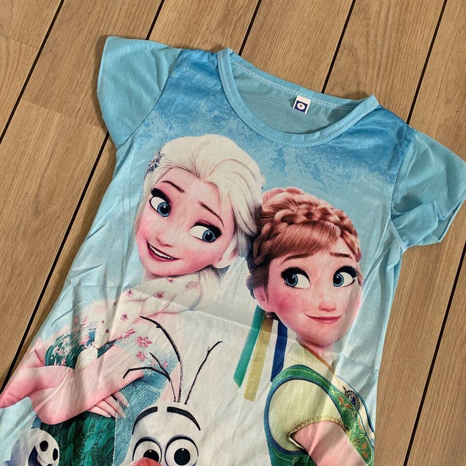 Kjole, Frost kjole str. 98 med Elsa og Anna fra Frost, Frost