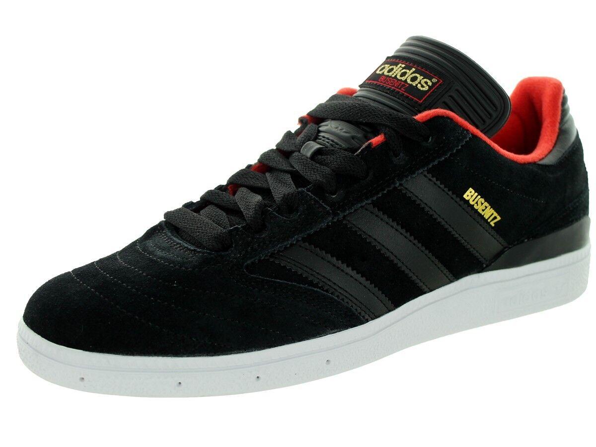 Adidas BUSENITZ Black Black Gold Red Skateboarding D68823 (345) Men's Shoes
