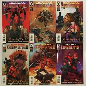 STAR-WARS-Comics-Crimson-Empire-II-Complete-Series-1-2-3-4-5-6-1999-Dark-Horse