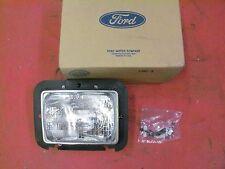 83 84 85 86 87 88 Ford Ranger/Bronco II LH Headlight Assembly, NOS E3TZ-13008-B