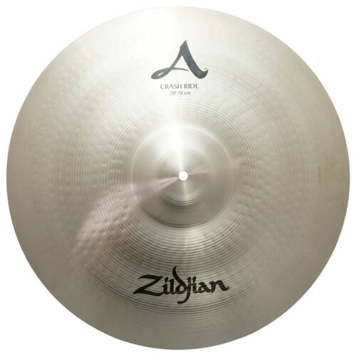 Zildjian A0024 20 A Crash Ride Cast Bronze Cymbal With A Large Bell Size - Used