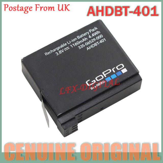 Genuine Original AHDBT-401 battery For Camer Gopro Hero 4 HD Black Silver