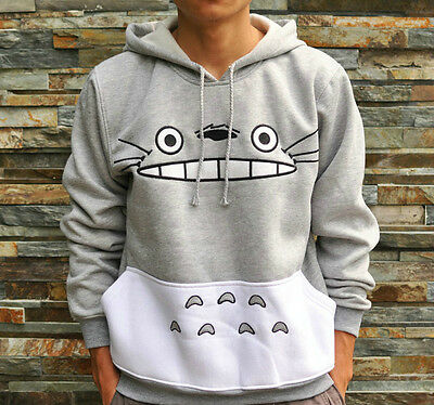 My Neighbor Totoro Hooded Ghibli Sweater cosplay coat S M L XL