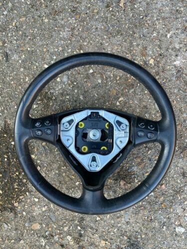 W169 MERCEDES A CLASS LEATHER STEERING WHEEL W//MULTI FUNCTION CONTROL