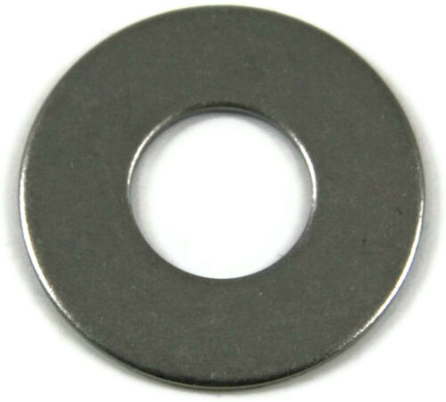 Stainless Steel Flat Washer Series 818 SAE 1//2 ID x 1.062 OD Qty 100
