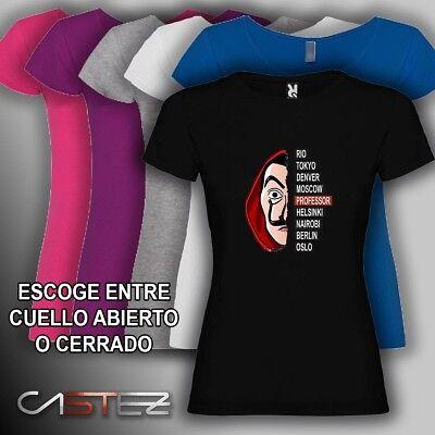 Dalim Pack de 5 Camisetas para Mujer 100/% Algod/ón Victoria