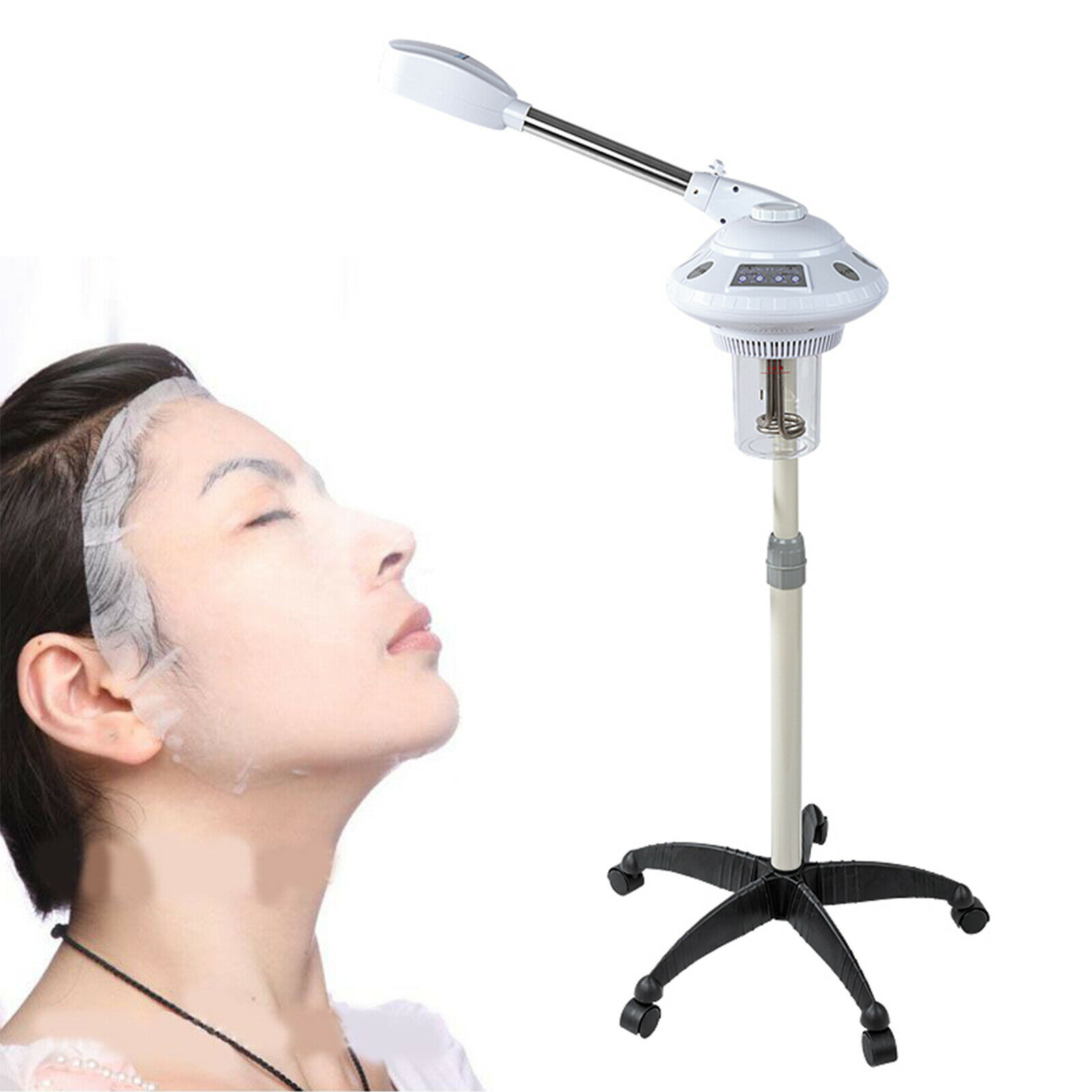 Neu Vapozon Aroma Ozon Bedampfer Dampfgerät Peeling Gerät Verdampfer Salon