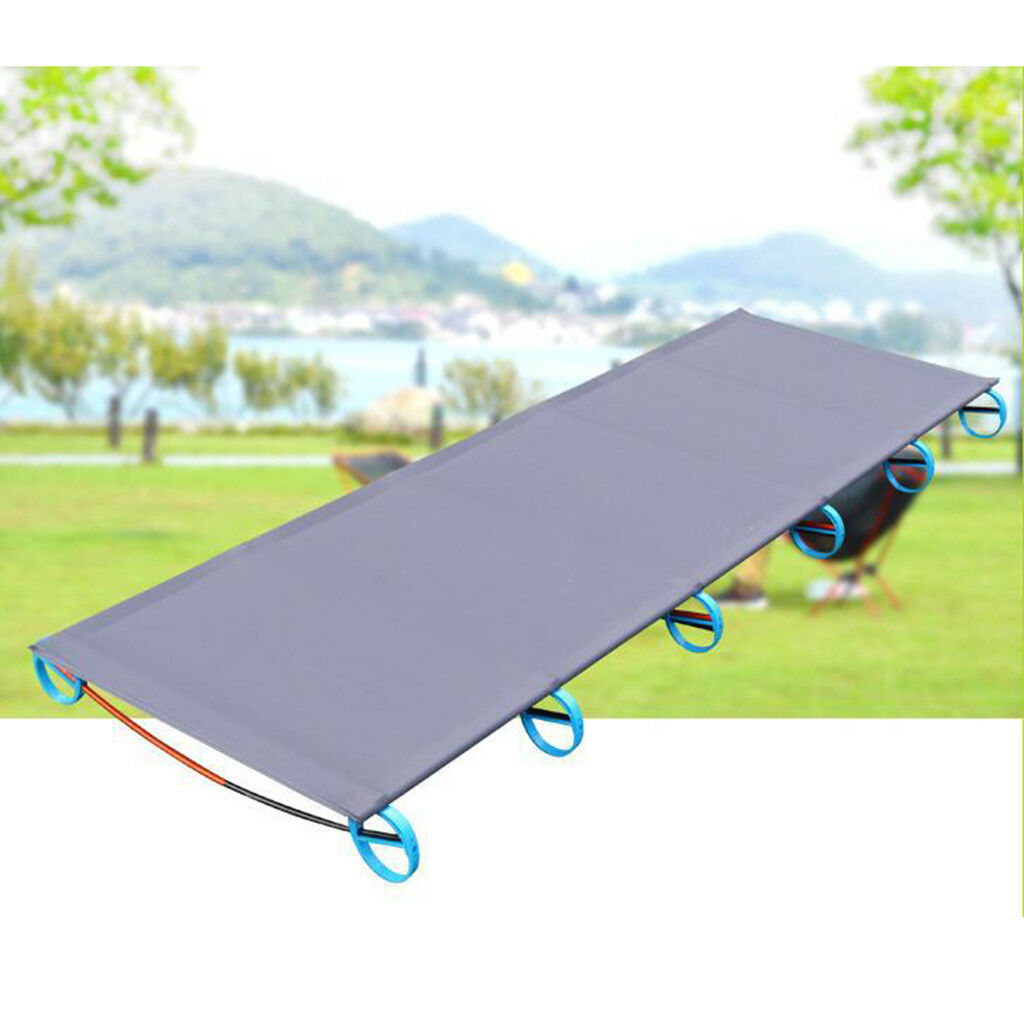 72.8  Portable Folding Camping Bed Hiking Cot Outdoor Sleeping Equipment