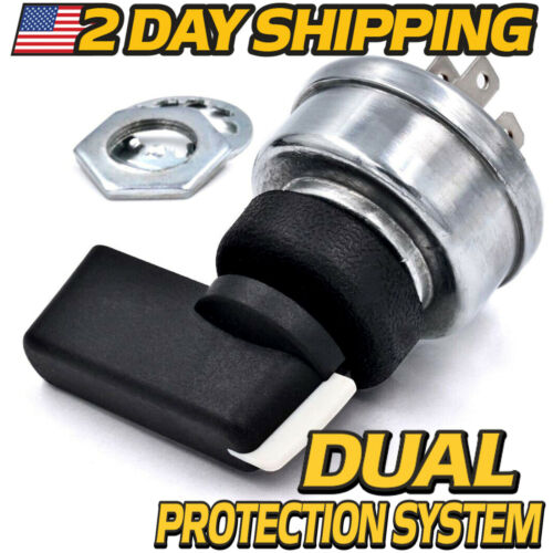 2 Day Shipping Ignition Switch 4Pos replaces Miller 176606 w//Handle /& Grommet