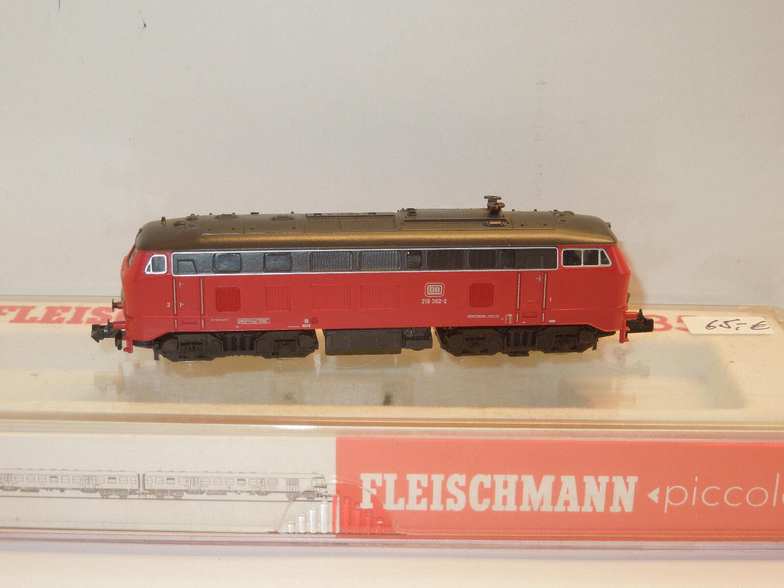 Fleischmann Spur N 7235 DIESEL BR 218 delle DB