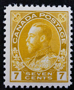 *Kengo* 1916 Canada Stamp #113 KING GEORGE V ADMIRAL ISSUE MNH CV$90 @136