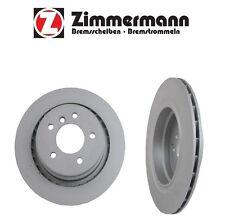 BMW E36 Z3 M3 Set of 2 Rear Brake Rotors ZIMMERMANN COAT Z 34 21 2 227 177 Fits
