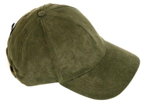 marron ou tan One Size Fits plus Daim synthétique style baseball cap pays en vert