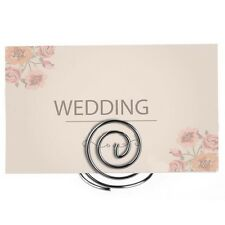 24x Metal Photo Place Card Holder Wedding Favours Table Number Decorations