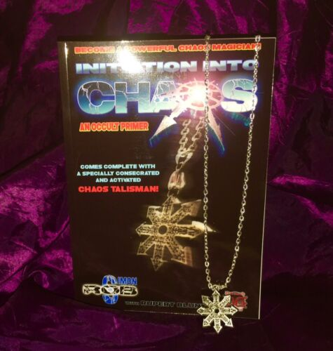 INITIATION INTO CHAOS Simon S  Rob Occult Black Magick Magic Finbarr Grimoire