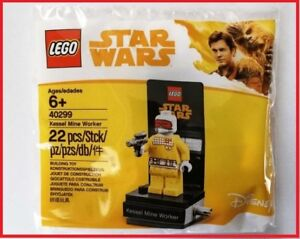 Lego 40299 Star Wars Kessel Mine Worker Minifigure Brand New//Sealed