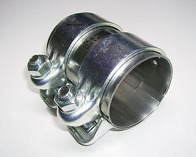 Auspuffschelle Rohrschelle Doppelschelle Rohrverbinder Ø 55mm  Länge 90mm