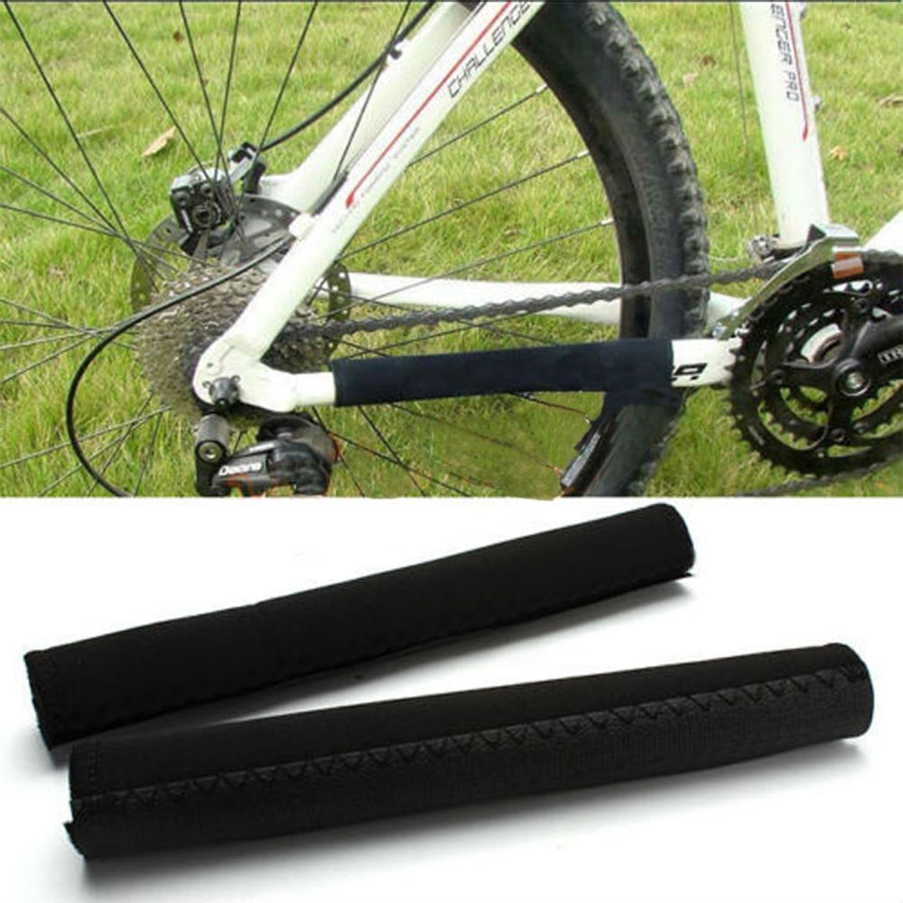 2pcs Chain Stay Cover Protector Pad Bicycle MTB Road Mountain Bike Frame Guard