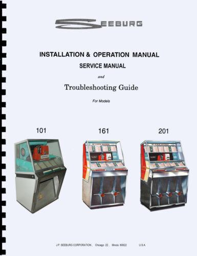 MANUALE COMPLETO juke box 201 manual JUKEBOX SEEBURG 101-161